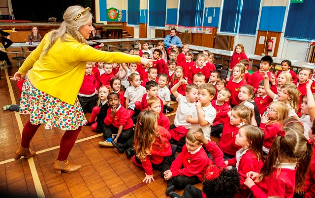 Scottish Power Foundation Library Energiser, Westpark Primary School in Northfield, Aberdeen