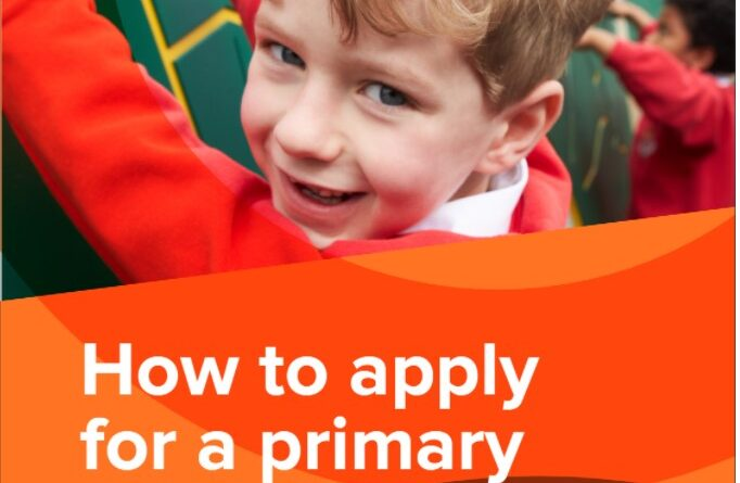 Applying for a place in Primary 1 2021/2022